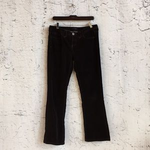 TOMMY HILFIGER BROWN CORDUROY PANTS 10L
